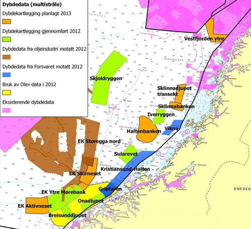 haltenbanken kart Mareano   The Sea in Maps and Pictures